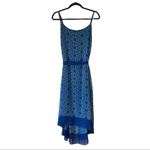 LANE BRYANT Star Print Hi Low Summer Dress (NEW)